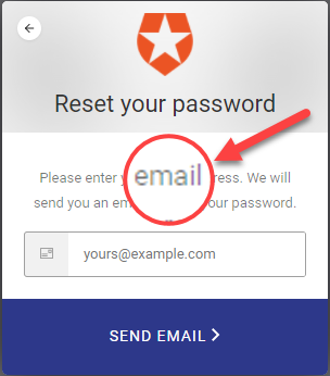 write your email